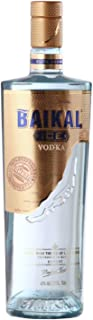 Baikal Ice Vodka, russischer Premium Wodka 40% vol., Qualitätsvodka mit Eis des Baikalsees und veredelt mit Extrakten aus Zitronenmelisse und grünem Tee 1 x 0.7 l