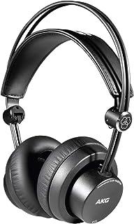 AKG K175 auricular Circumaural Diadema Negro - Auriculares (Circumaural, Diadema, Alámbrico, 18-26000 Hz, 114 dB, Negro)