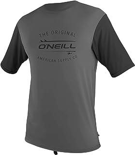 O'NEILL Men's Limited UV S/S Sun Shirt Graphite/Black