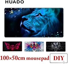 Gaming Mouse Pad Rubber Mousepad Desk Mat Carpet Large Mouse Mats For Overwatch/steelseries/world Of Tanks Huhero (Color : Mouse pad 100X50cm)