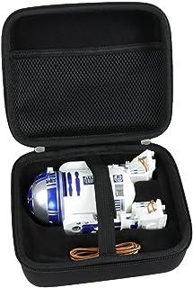 Hermitshell Hard EVA Travel Black Case Fits Sphero Star Wars R2-D2 App-Enabled Droid