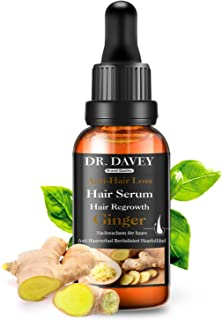 Hair Growth Serum for Hair Loss and Hair Regrowth Ginger Hair Growth Oil for Thinning/Balding /Repairs Hair Follicles /Promotes Thicker/ Stronger Hair Suitable All Hair Types Hair Growth and Loss Treatment for Men and Women