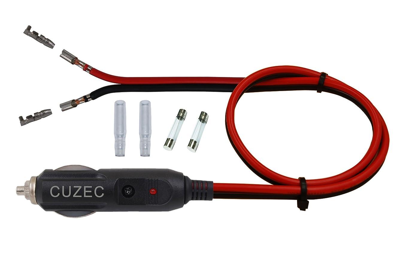 CUZEC 12V Cigarette Lighter Power Adapter ija9032399