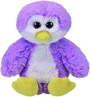 Ty Beanie GORDON - penguin reg, purple, 8 inches