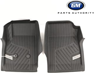 GM Accessories 84056628 Front Floor Liners in Jet Black with GMC Logo