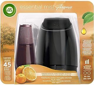 Air Wick Essential Mist - Aparato y recambio de ambientador difusor, esencia para casa con aroma a Explosión Cítrica, pack...