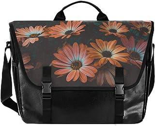 Beautiful Bloom Wild Daisy Bolso de lona para cartero, unisex, 15.108 pulgadas, bolsa de hombro, bolso de mano