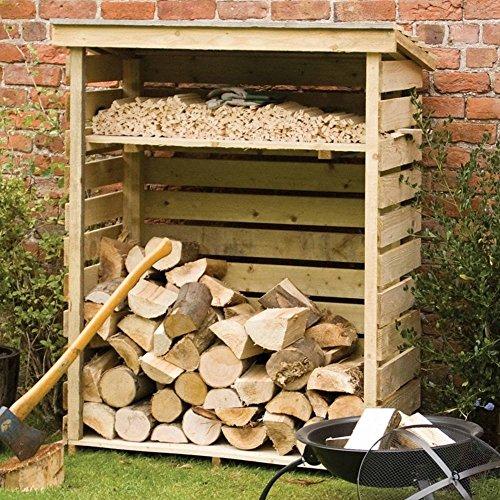 Rowlinson Log Store, Natural Timber