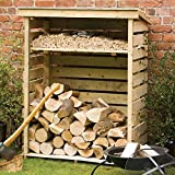 Rowlinson Small Log Store Pressure Treated Wood