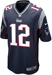 Nike New England Patriots Tom Brady Blue Youth Game Jersey