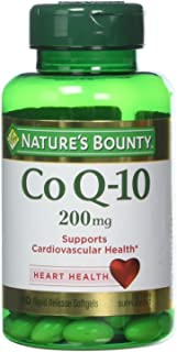 Nature's Bounty Co Q-10, Extra Strength, 200mg , 80 Softgels (Pack of 3)
