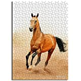 CCBRA Giocattoli da Puzzle per Cavalli del Deserto per Adulti e Bambini Regali Unici per Coppie e Amici Puzzle da 1000 Pezzi in Carta