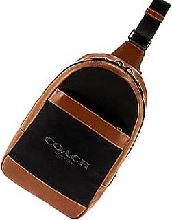 COACH(コーチ) ボディバッグ メンズバッグ 斜め掛けショルダー F59320 FD7 ブラウン×ブラック [並行輸入品]