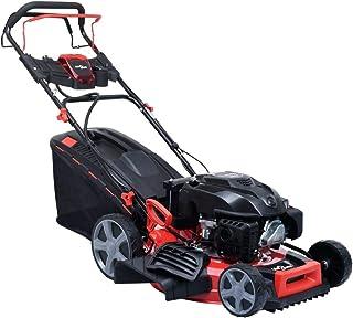 vidaXL Cortacésped de gasolina 4 en 1 con arranque eléctrico de acero, 51 cm, 4,6 CV