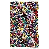 Power Rangers Crowd of Rangers Fleece Blanket (36x58)