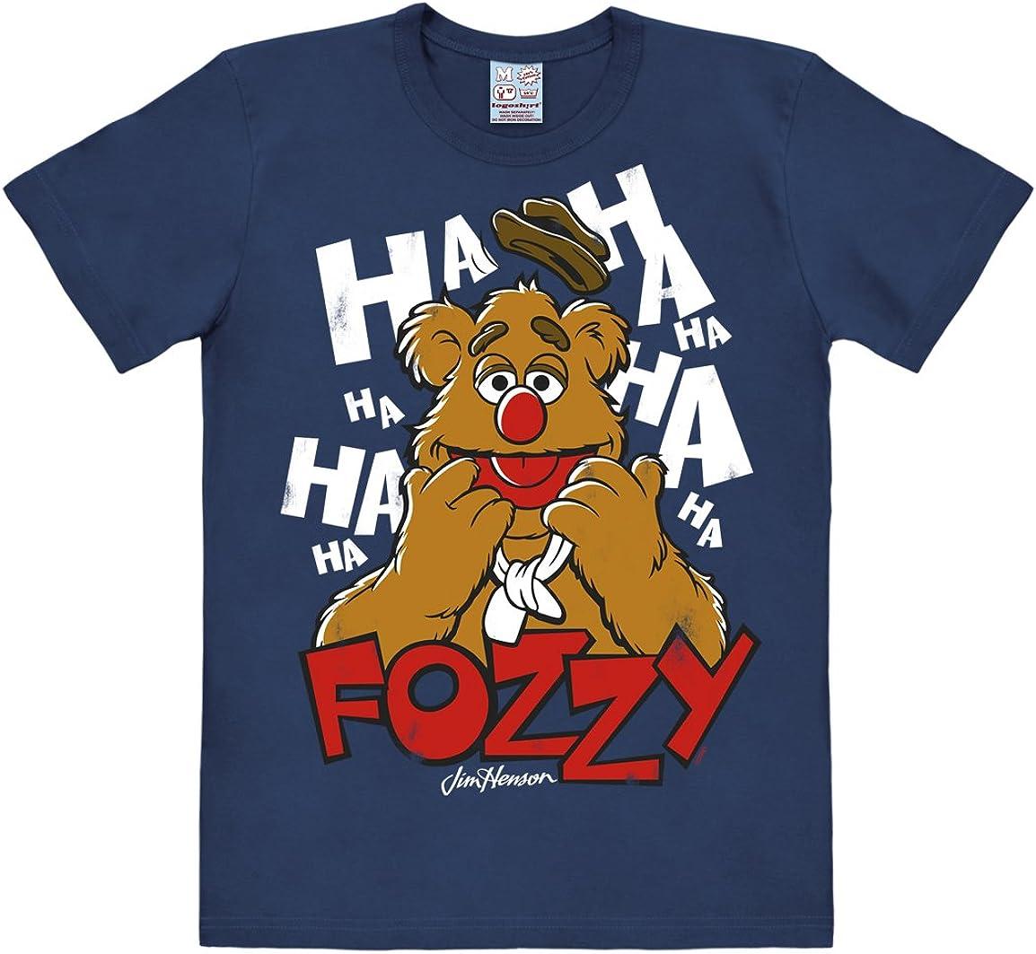 LOGOSHIRT TV The Muppet Show Hero T-Shirt Portrait Fozzie Bear