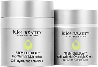 Juice Beauty Juice Beauty Stem Cellular Day & Night Duo - Anti-Wrinkle Moisturizer (1.7 Fl Oz) Anti-Wrinkle Overnight Crea...