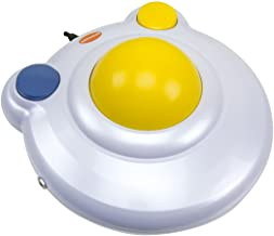 """BIGtrack 2.0 Trackball - for Users who Lack Fine Motor Skills to Use a Mouse. A Big 3"""" Trackball with 2 Blue (Left and Right) Mouse Buttons - #12000006"""