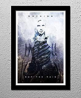 Starbuck - Battlestar Gallactica - Kara Thrace - Original Minimalist Art Poster Print