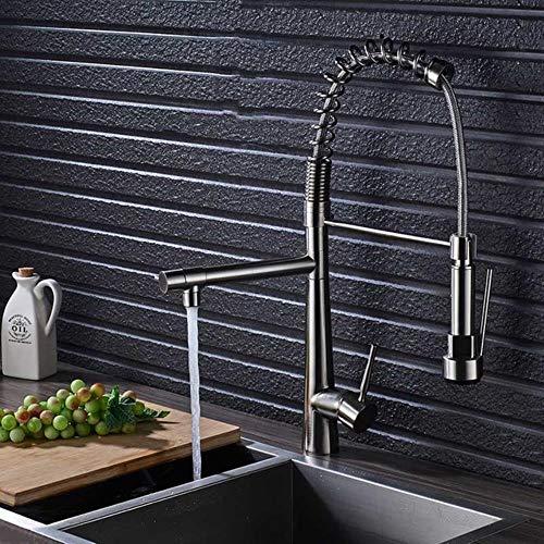 5151BuyWorld Wasserhahn Küchenarmatur Led Sprayer Düse Deck Montiert Wannen-Mischer-Hahn Kalt- Und Warmwasser Messinghähne Kostenloser Versand ==Without Plater +