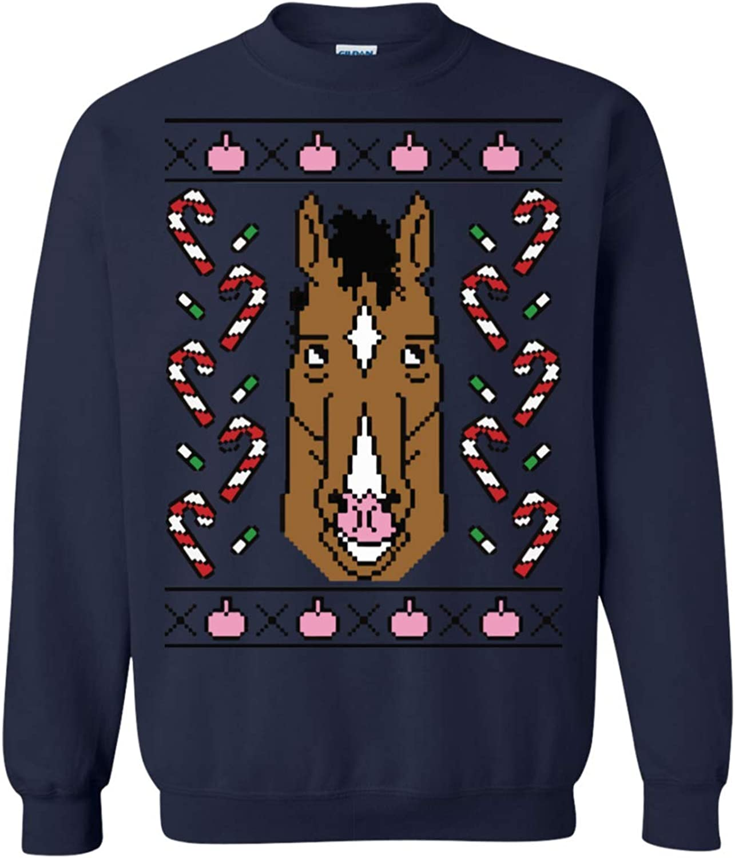 97e06027935 Novelty Tshirts Gifts For Women Men Men Men Ugly Holiday BoJack Horseman  Crewneck Sweatshirt 181d6b