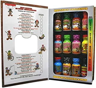 Ass Kickin Hot Sauce Challenge Book of Pleasure and Pain, 1 Count