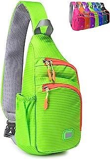 کوله پشتی سینه بند کوچک ضد زنگ Peicees کیسه شانه ضد آب Crossbody Daypack