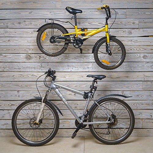 Powerfly Fahrrad Montageständer Fahrradständer zur Wandmontage – Fahrradmontageständer Reparaturständer Reparatur-Wandhalter Ständer - 6