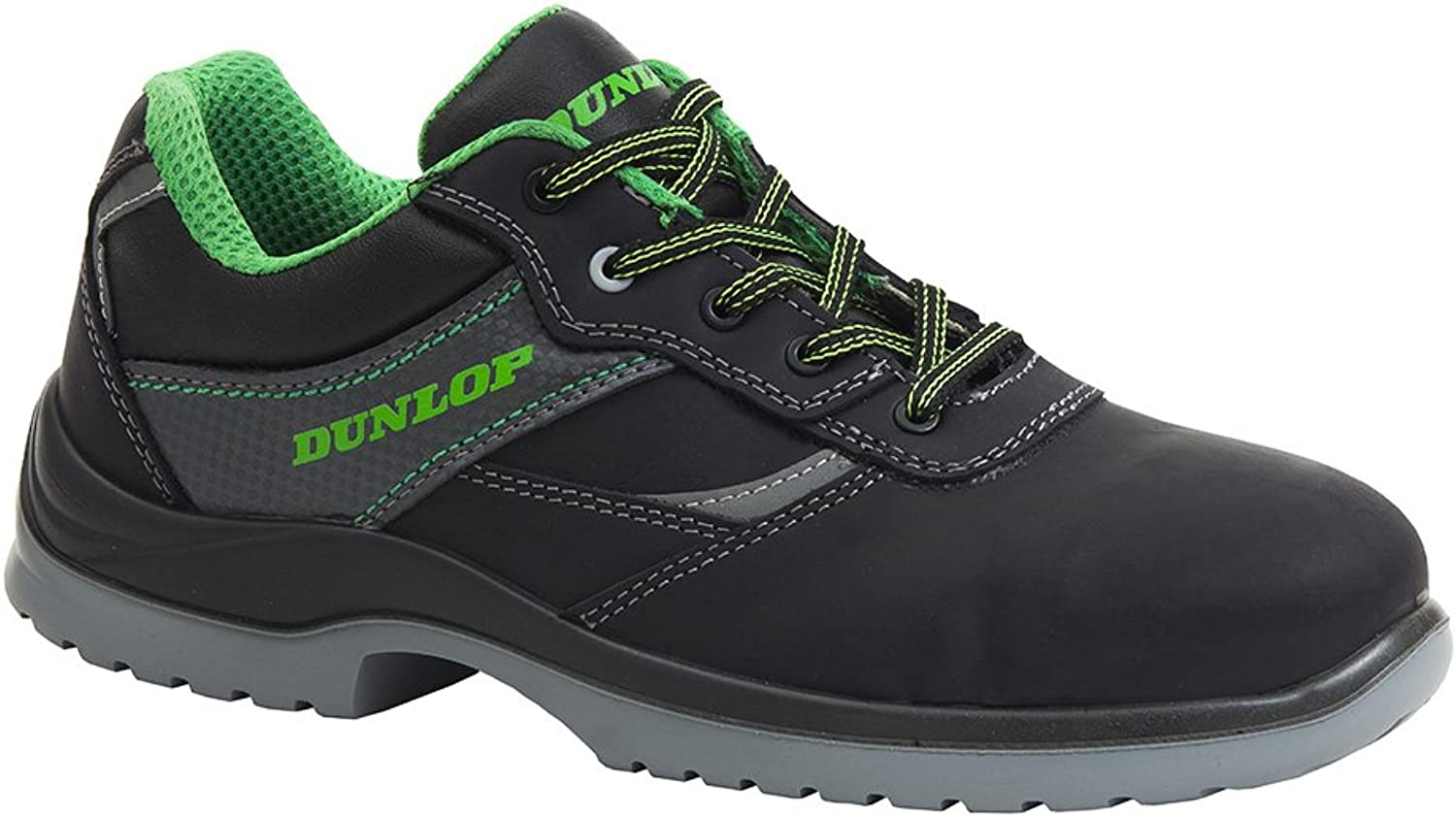 Dunlop First One Low - S3 SRC predective work shoes in black - EN safety certified