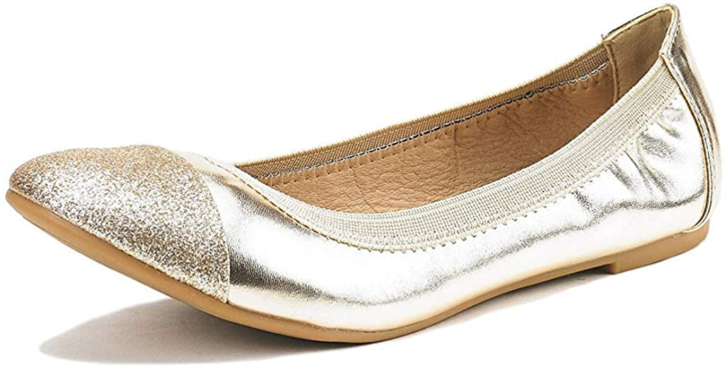 DREAM PAIRS All stores are sold Women's Sole-Flex Shoes Award-winning store Walking Ballerina Flats