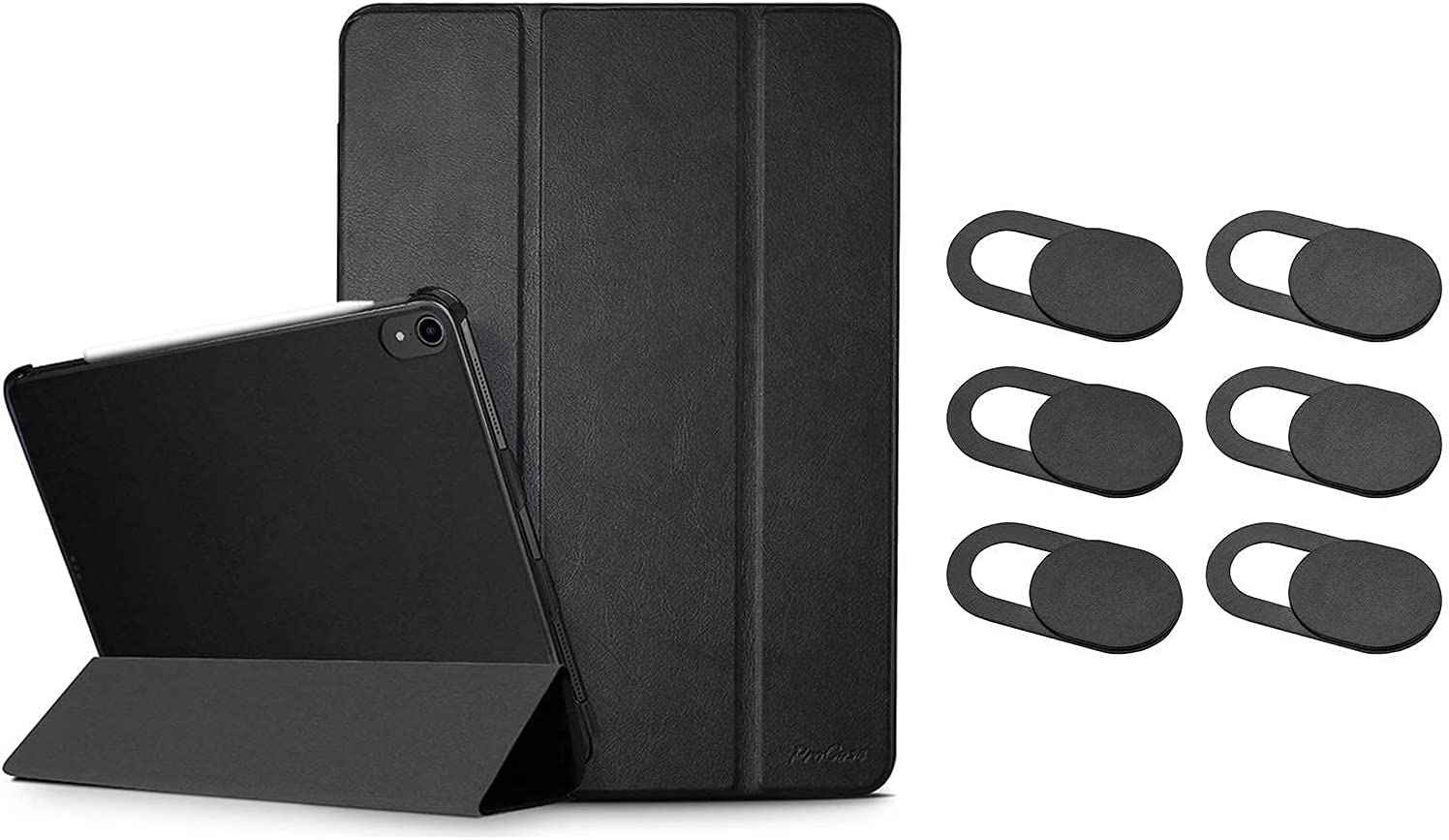 ProCase Black iPad Credence Pro 11 Slim Generation 2nd Inexpensive Case 2020 Stand