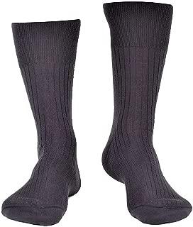 3 paia calzini corti lana LANCETTI art.LAN007C3 calze eleganti nero grigio blu