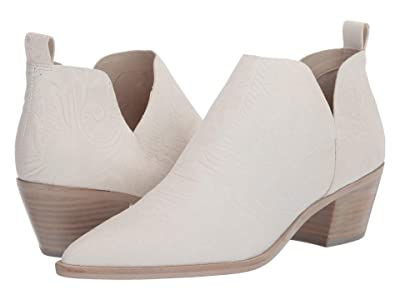 Dolce Vita Sonni (White Embossed Leather) Women