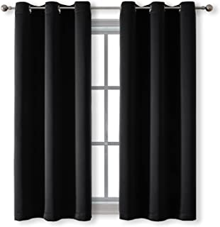 Rutterllow Blackout Curtains for Bedroom, Thermal Insulated Room Darkening Curtains 2 Panels for Living Room, Grommet Top...