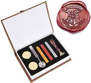 Kit de tampons de cachet de cire Ensemble de cire de cachet vintage classique pour enveloppe d'enveloppes de timbres, B-Style