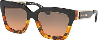 Michael Kors MK2102 302118 Block Black Tort Berkshires Square Sunglasses Lens C