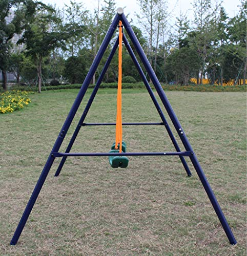 Movement God Metal A-Frame Two Seat Swing Set