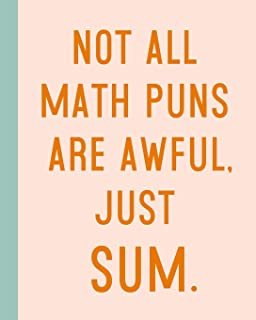 Not All Math Puns Are Awful, Just Sum: 8 x10