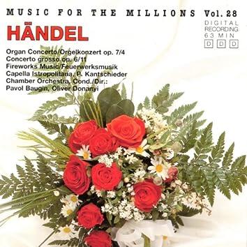 Music For The Millions Vol. 28 - Georg Friedrich Händel