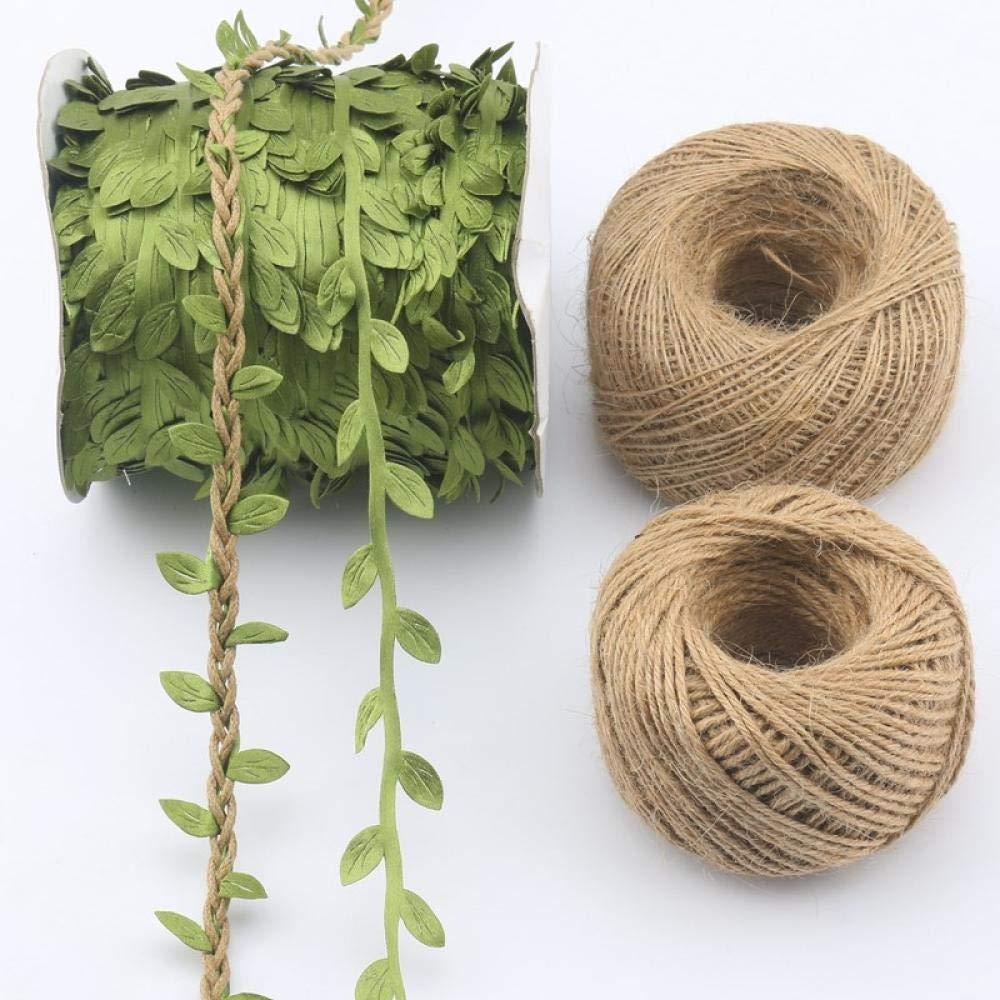 CCCDB Escalada Cuerda de cáñamo Creativa para jardín de Infantes (Cuerda de Yute 8 mm * 20 m) * 5 Cuerda de Cáñamo Torcida Resistente para Tira y afloja: Amazon.es: Jardín