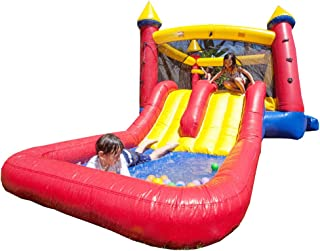 inflatable water slide party