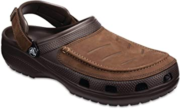 Crocs Men's Yukon Vista Clog   Comfortable Casual Outdoor Shoe with Adjustable Fit
