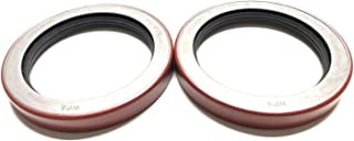 (Pack of 2) Trailer Hub Wheel Unitized Oil Seals WPS (TM) 10-51 (370150BGO) for 9K-10K GD Axles ID 2.875'' x OD 3.880''