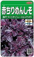 サカタのタネ 実咲野菜3076 赤ちりめんしそ 00923076