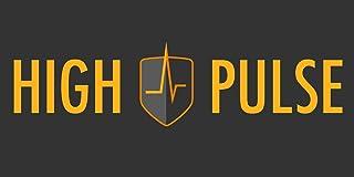 High Pulse® XXL Balance Pad incluye 3 x bandas de fitness + póster – Cojín de equilibrio para un equilibrio mejorado, coordinación y estabilidad (azul 4 piezas)