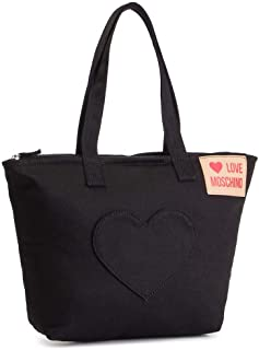 Love Moschino Women's JC4250PP07KG000A Black Fabric Tote