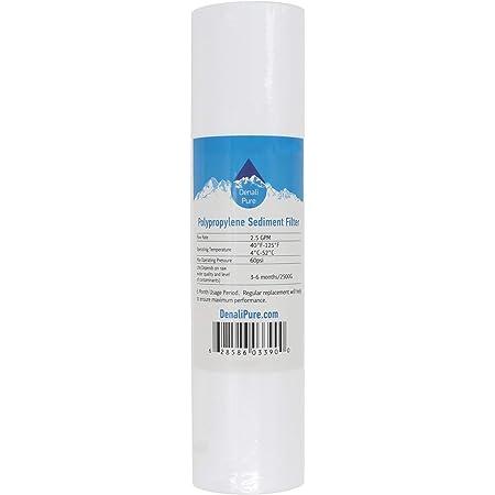 Denali Pure Lot de 9 filtres à sédiments en polypropylène Culligan HF-360 – Cartouche universelle de 25,4 cm 5 microns pour filtre à sédiments Culligan HF-360