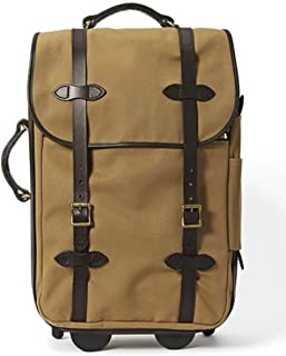 filson rugged twill rolling carry on bag