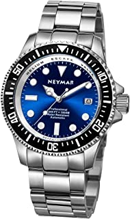 44mm Men's 1000m Diver Japanese Automatic Sport Stainless Steel Watch