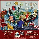 SUNSOUT INC Mah Jongg Meet Up 1000 pc Jigsaw...